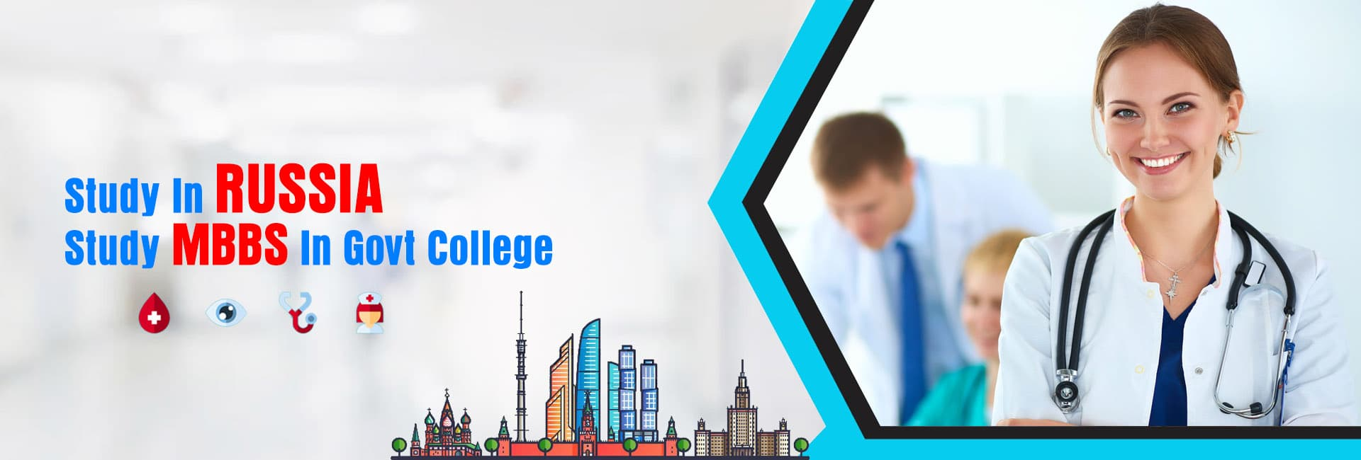 Banner, Study MBBS in Russia